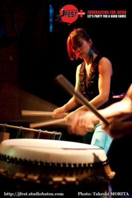 2taiko at JFest, Montreal, 2011